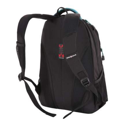 Рюкзак детский SWISSGEAR Школьный черный/бирюзовый 22 л