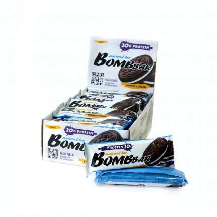 Протеиновый батончик Bombbar, печенье с кремом, 60 г (20 шт.)
