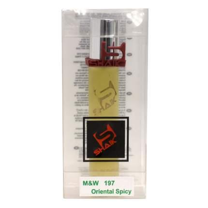 Парфюмерная вода Shaik № 197 Tobac Vanille, 20 мл