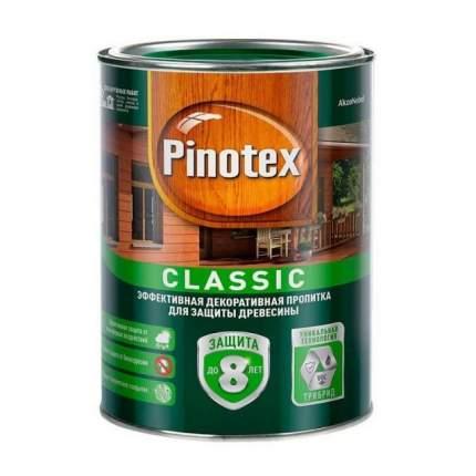 Пропитка для защиты древесины Pinotex Classic Красное дерево 1л