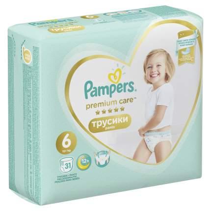 Трусики Pampers Premium Care 6 (15+ кг), 31 шт.