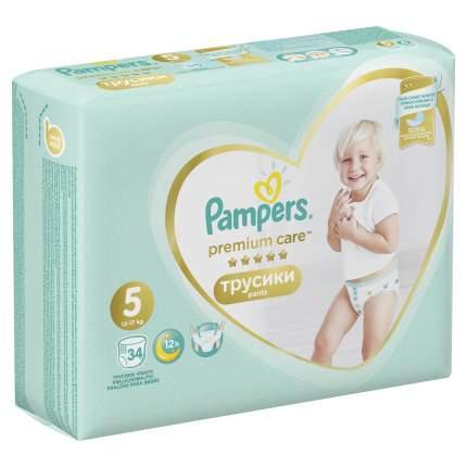 Трусики Pampers Premium Care 5 (12-17 кг), 34 шт.