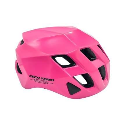 Шлем взрослый Tech Team  GRAVITY 500 розовый объем 56-62см