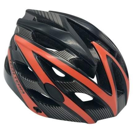 Шлем взрослый Tech Team  GRAVITY 700 оранжевый объем 56-62см со стоп-сигналом