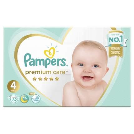 Подгузники Pampers Premium Care 4 (9-14 кг), 82 шт.
