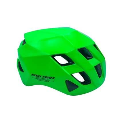 Шлем взрослый Tech Team GRAVITY 500 зеленый объем 56-62см