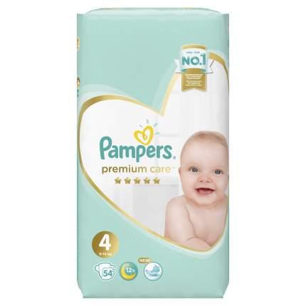 Подгузники Pampers Premium Care 4 (9-14 кг), 54 шт.