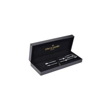 Набор подарочный Pierre Cardin Pen&Pen - Black, ручка шариковая + ручка роллер