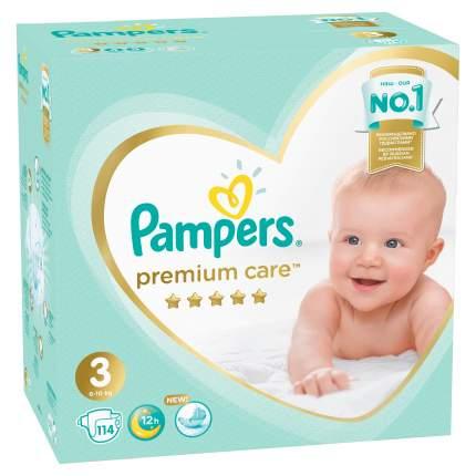 Подгузники Pampers Premium Care 3 (6-10 кг), 114 шт.
