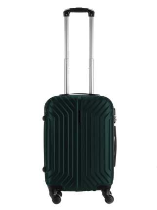 Чемодан Impreza Freedom Корона темно-зеленый 56 см, S
