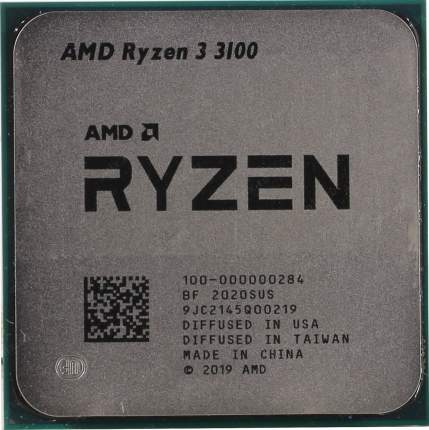 Процессор AMD Ryzen 3 3100 (00-000000284) OEM