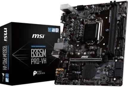 Материнская плата  MSI B365M Pro-VH
