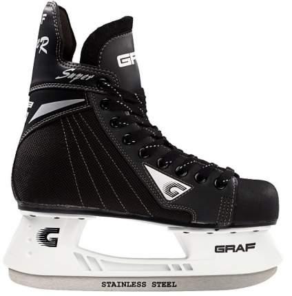 Коньки хоккейные Graf Super G, black, 45 RU