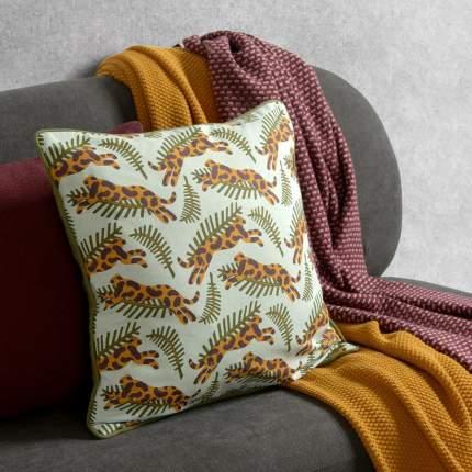 Чехол для подушки с дизайнерским принтом big jump из коллекции wild, 45х45 см