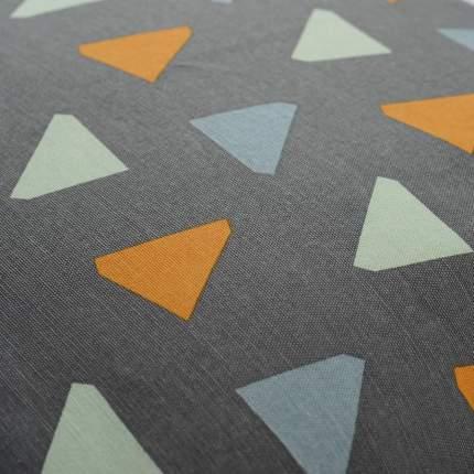 Чехол для подушки дизайнерским принтом triangles из коллекции wild, 45х45 см