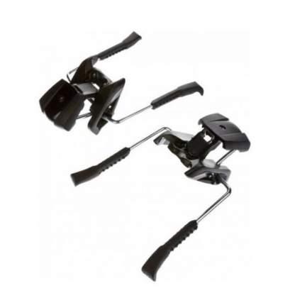 Крепление горнолыжное Elan Power Brake2 Ld 110 [D] 2021, черные, 110 мм