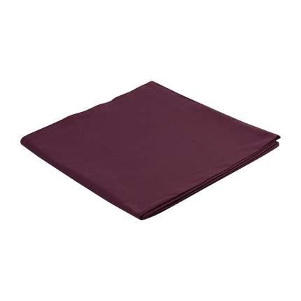 Скатерть на стол бордового цвета из коллекции Wild, 170х170 см