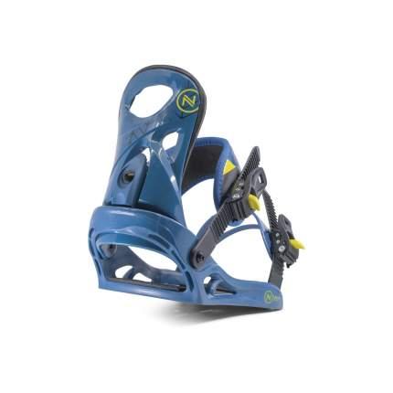 Крепление для сноуборда Nidecker Prosper 2020, голубое, M