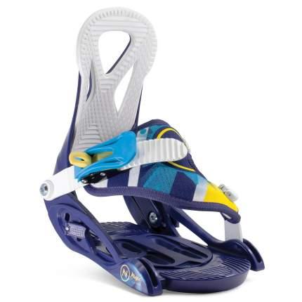 Крепление для сноуборда Nidecker Magic 2020, синее, XS