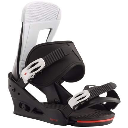 Крепление для сноуборда Burton Freestyle 2021, черное, M