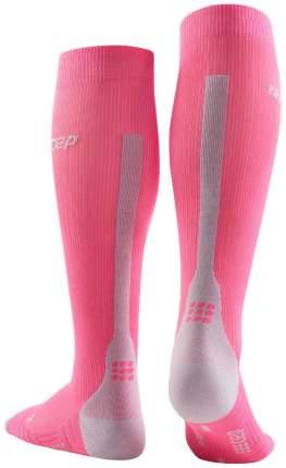 Компрессионные гольфы CEP C123W, розовые, IV