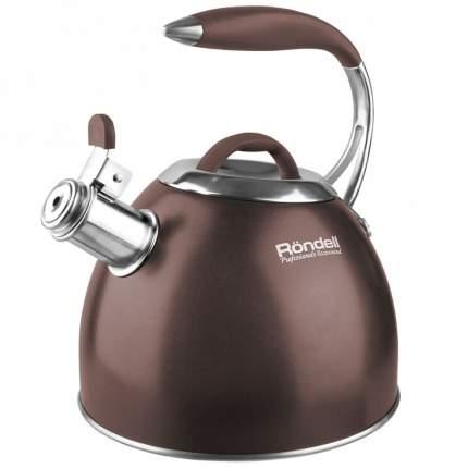 Чайник, 2,8 л, со свистком, индукция, Rondell RDS-837