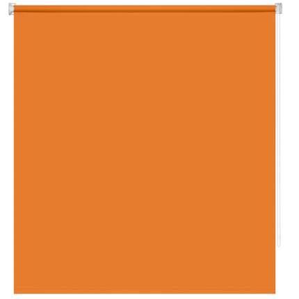 Рулонная штора Decofest Миниролл Плайн Оранжевый 80x160 160x80 см