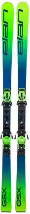 Горные лыжи Elan Gsx Team Plate 2021, green, 158 см