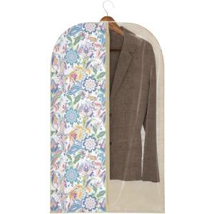 Чехол для одежды бежевый с рисунком, 60х100 см