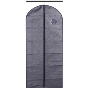 Чехол для одежды синий, 60х135 см