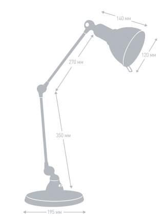 Светильник Camelion KD-334 C17