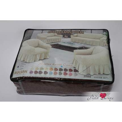 Набор чехлов для дивана Bulsan Цвет: Бордовый