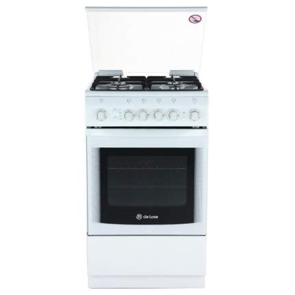 Газовая плита DeLuxe 5040.41г White