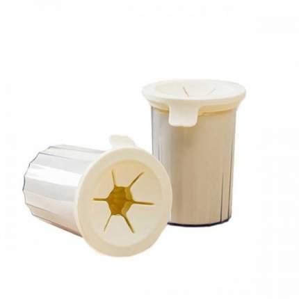 Лапомойка для собак Xiaomi Pet Foot Cup Brush, белая, для маленьких пород