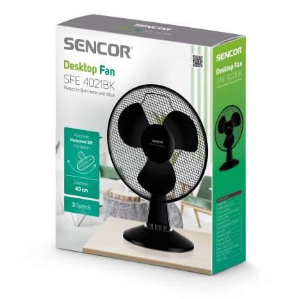 Венилятор бытовой Sencor SFE4021BK