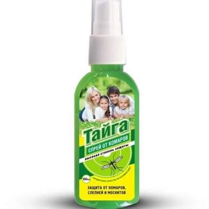 Средство от комаров Тайга 44394COM Спрей от Комаров Слепней и Москитов 100 мл