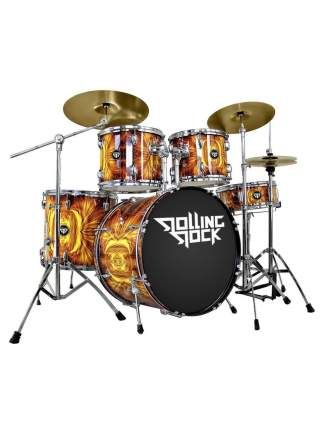 Ударная установка Rolling Rock Jr-2232c Plasma