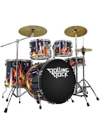 Ударная установка Rolling Rock Jr-2232c Fire