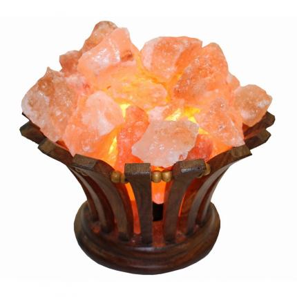 Соляная лампа абажур-корзина «Ваза»