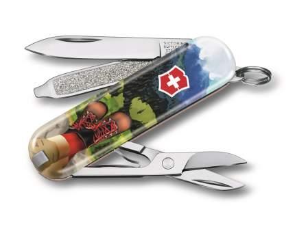 Нож брелок VICTORINOX 0.6223.L2002 I Love Hiking - Пешие путеществия