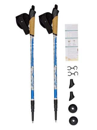 Палки VINSON для скандинавской ходьбы P300 голубые 7089454