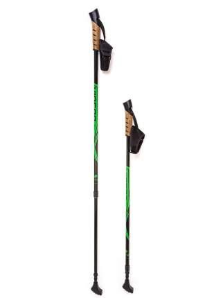 Телескопические палки VINSON для скандинавской ходьбы Alu P200 зеленые 10014091