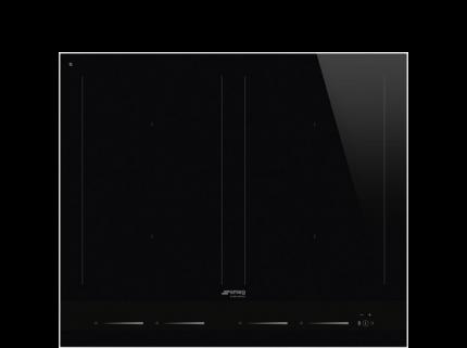 Встраиваемая варочная панель индукционная Smeg SIM1643D White