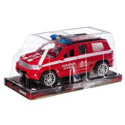 Машинка Shenzhen Jingyitian Trade Джип пожарной охраны 01 с мигалкой