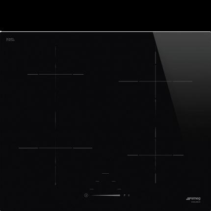 Встраиваемая варочная панель индукционная Smeg SI4642D Black