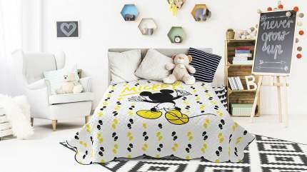 Детское поркывало Askona Disney Yellow art 200x200см