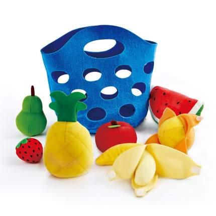 Игровой набор Корзина с фруктами Hape E3169_HP