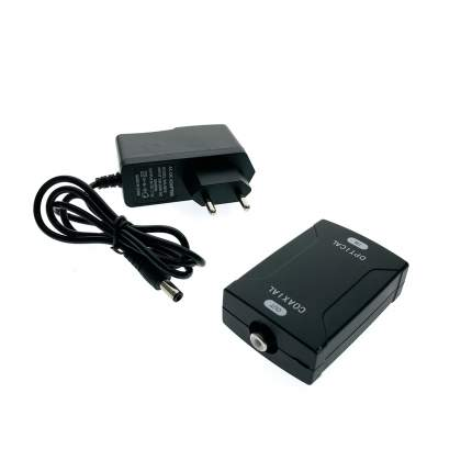 Цифро-аналоговый преобразователь Espada EDH-T/R, Toslink (Optical) to RCA (Coaxial)
