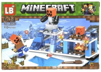Конструктор JLB Minecraft Владение 112 деталей ITLB548-D