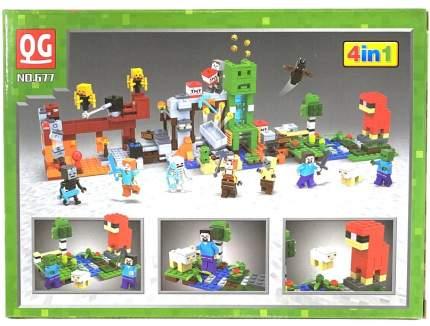 Конструктор Minecraft Атака на убежище 116 деталей IT677-1